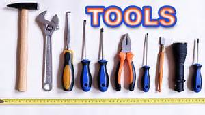 Tools Name And Picture