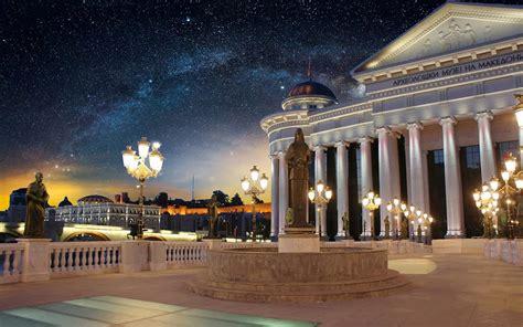 archaeological museum  macedonia  skopje baroque