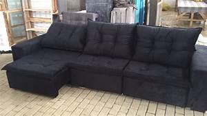 Sofa 2 60 M : sof retr til reclin vel 3 lugares 3 2m abre 1 8m fabrica r em mercado livre ~ Bigdaddyawards.com Haus und Dekorationen