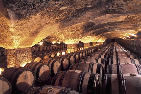 historic champagne caves  wine cellars  visit