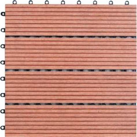 naturesort 1 ft x 1 ft 4 slate composite deck tile in