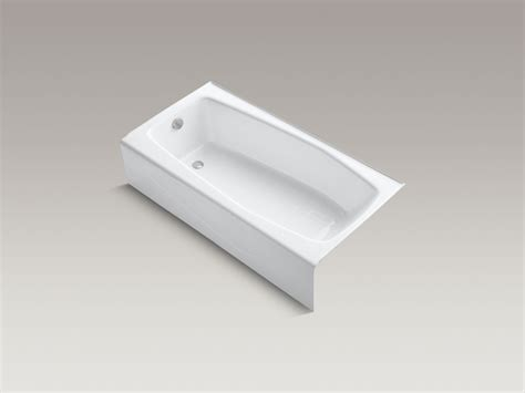 kohler villager bathtub drain standard plumbing supply product villager ci tub lh wh