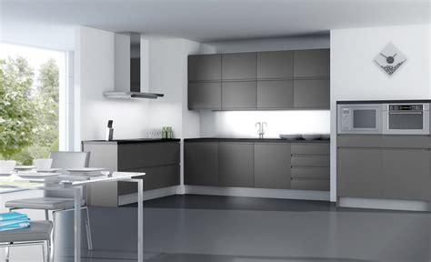 cocinas  muebles de cocina la elegancia del gris