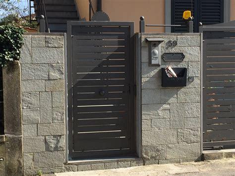 cancelli pedonali carpenteria toscana