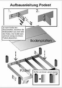 Podest Bauen Anleitung : wasserbett selber bauen bebilderte bauanleitung ~ Lizthompson.info Haus und Dekorationen