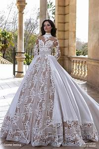 Crystal design 2016 wedding dresses world of bridal for Create wedding dress