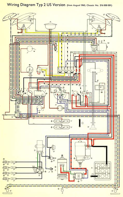 1966 wiring diagram usa thegoldenbug