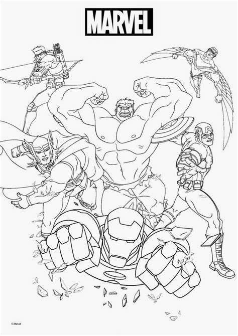 Marvel Coloring Pages Superhero coloring Superhero