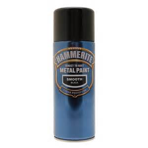 Staircase Specialist by Hammerite Direct To Rust Metal Paint Aerosol 400ml Black