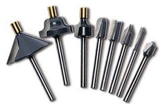 find mini  shank router bits