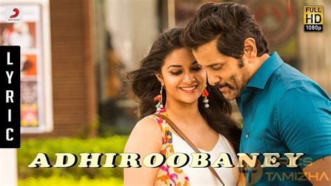 adhiroobaney saamy square lyrics  english song meaning