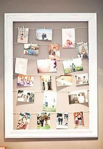 Fotos Aufhängen Ohne Rahmen Ideen : fotow nde und fotocollagen ideen mit denen du dein heim verzauberst fotowand gestalten ~ Bigdaddyawards.com Haus und Dekorationen