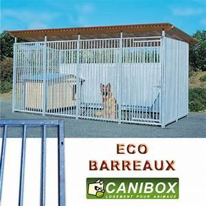 Chenil Extérieur Pour Chien : construire un chenil en panneaux acier pour chien pas cher ~ Melissatoandfro.com Idées de Décoration
