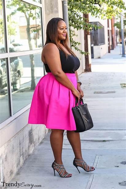 Pink Curvy Trendy Trendycurvy Summer Outfit