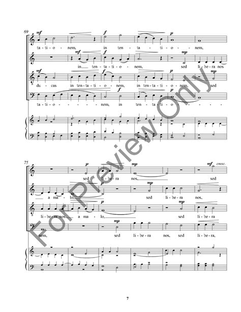 pater noster audio pater noster satb by f cavallaro j w pepper sheet