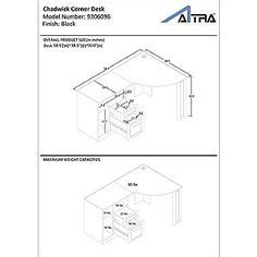 altra chadwick corner desk 1000 images about office on home office