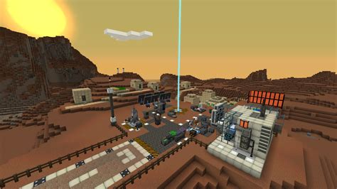 A base on Mars for Galacticraft ported to 1.7.10