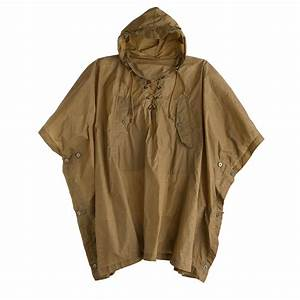 Wallace & Barnes hooded military rain poncho : Men Wallace ...
