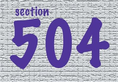 Section 504  Patricia E Kefalas  Advocate For Elders