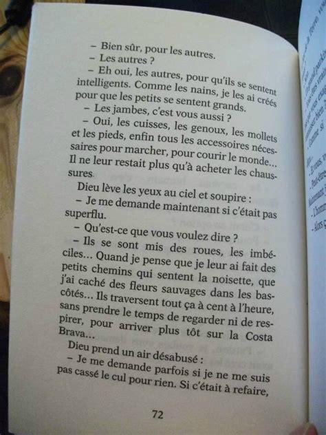 Extrait Cv by Le C V De Dieu De Jean Louis Fournier Chez Plouf