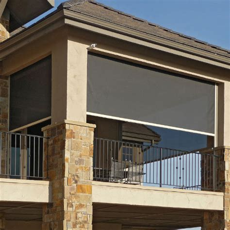 exterior solar shades  screens    window coverings