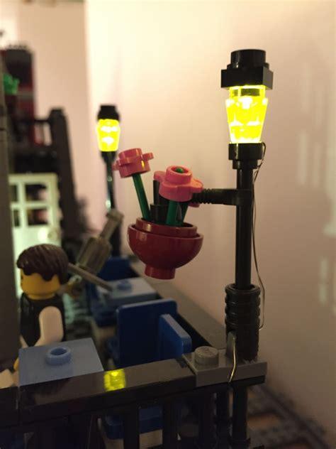 city lights wiring  leds internet  lego