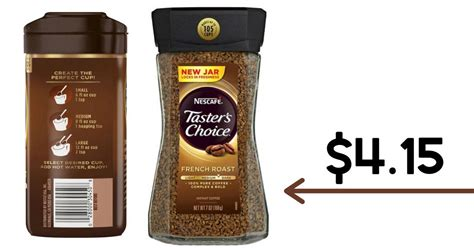 Unlike ground coffee, instant coffee granules are made from dehydrated brewed coffee. Nescafe Coupon   $4.15 Taster's Choice Coffee at Target :: Southern Savers