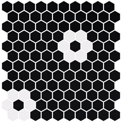 Hex Hex by Colecciones 187 Onix Mosaico Hex Pattern 1