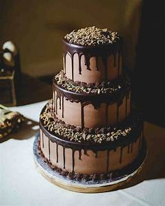 26 Chocolate Wedding Cake Ideas That Will Blow Your Guests ...