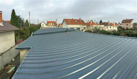 toiture bac acier isolé toiture bac acier entreprise de couverture et couvreur zingueur amc idf