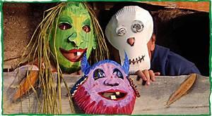 Basteltipps Für Halloween : halloween masken basteln ~ Lizthompson.info Haus und Dekorationen