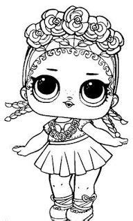 lids siobhan lol doll colouring pages lol dolls cute coloring pages coloring pages