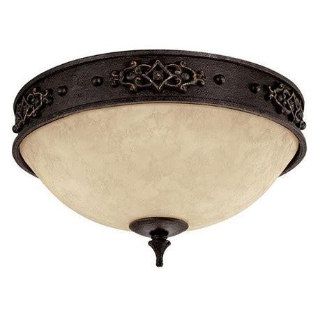 rustic flush mount ceiling lights capital rustic iron river crest 2 light flush mount