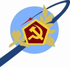 Soviet space program Logo by KingWillhamII on DeviantArt