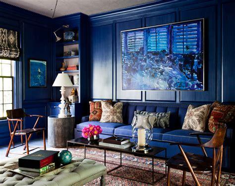 wood block coffee table blue living room ideas