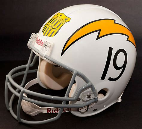 san diego chargers  riddell nfl full size replica