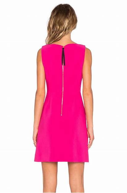Spade Kate Pink Line Crepe Stretch Clothing