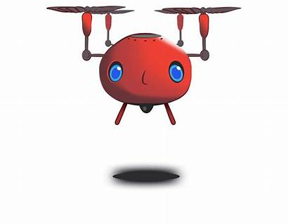 Clipart Drone Cartoon Animated Wave Bad Lookout