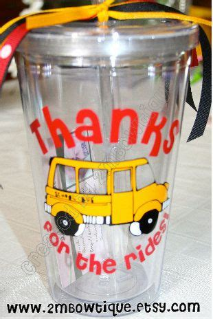 gifts for transport drivers thanks for the rides tumbler cup for drivers free personalization great gift idea