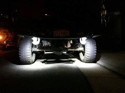 rear view of okledlightbars rock lights 40 800