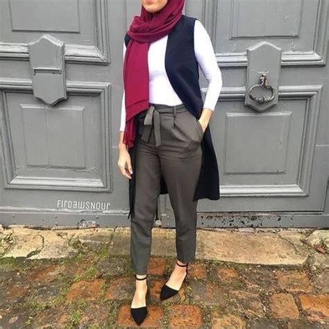 dressy pants  hijab  trendy girls