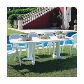 Salon De Jardin En Plastique Pas Cher : table de jardin plastique blanc pas cher l 39 habis ~ Teatrodelosmanantiales.com Idées de Décoration