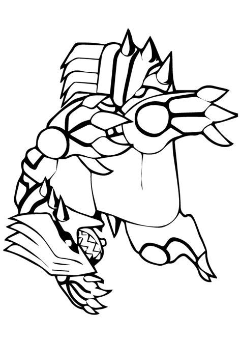 groudon  pokemon coloring page  printable