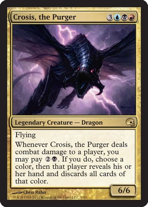 crosis the purger new art from graveborn premium deck