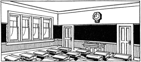 classroom clipart black and white classroom clipart