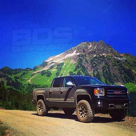 gmc sierra  terrain  lifted    bds lift   cars trucks carro