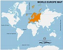 Free Europe Location Map | Location Map of Europe open ...