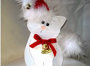 12 Free Cat Christmas Craft and Gift Ideas