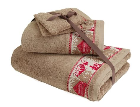 pack linge de toilette chalet enneig 233 linvosges