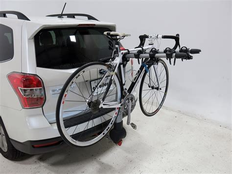 subaru bike rack 2012 subaru forester yakima ridgeback 4 bike rack 1 1 4